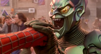 Spider-Man has his hands full with The Green Goblin. Or is that the other way around?