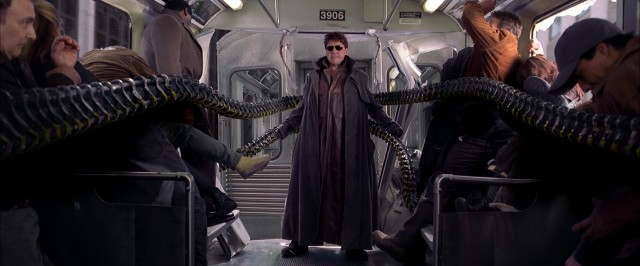 Scientist Otto Octavius (Alfred Molina) becomes robotically-armed madman Dr. Octopus, this sequel's formidable villain.
