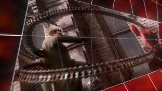 Spider-Man 2's original DVD menu animation gets reused...