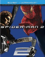 Spider-Man 2: Blu-ray + UltraViolet edition cover art -- click to buy from Amazon.com