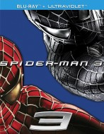 Spider-Man 3: Blu-ray + UltraViolet edition cover art -- click to buy from Amazon.com