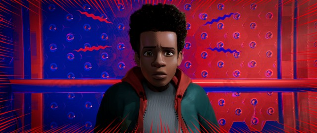 "Brooklyn teenager Miles Morales is the young protagonist of ""Spider-Man: Into the Spider-Verse."""