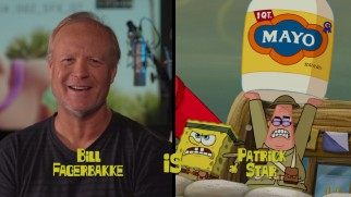 "Bill Fagerbakke IS Patrick Star in ""When I Grow Up, I Want to Make Funny Sounds."""