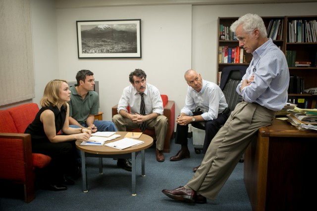 """Spotlight"", about the Boston Globe's four-member investigative journalist team, is the film to beat this awards season."