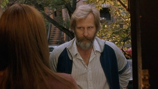 Bernard (Jeff Daniels) pays the wife from whom he recently separated a visit at her Park Slope, Brooklyn home.