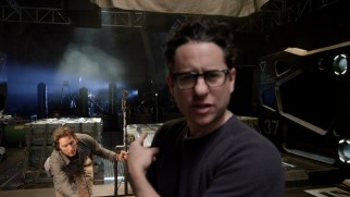 "Director J.J. Abrams is happy with what he sees in ""Ship to Ship."""