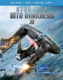 Star Trek Into Darkness: Blu-ray 3D + Blu-ray + DVD + Digital Copy combo pack cover art - click to buy from Amazon.com