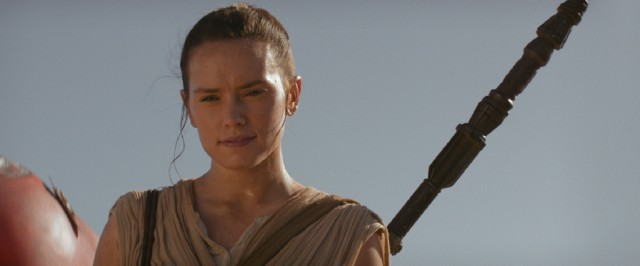 Scavenger Rey (Daisy Ridley) emerges as a heroine for a new generation.
