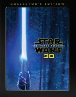 Star Wars: The Force Awakens: Collector's Edition Blu-ray 3D + Blu-ray + DVD + Digital HD combo pack cover art - click to buy from Amazon.com