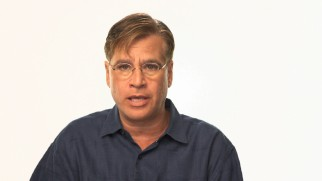 "Screenwriter Aaron Sorkin airs his thoughts in ""Inside Jobs"" as well as an audio commentary."