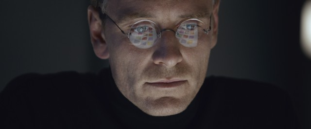 """Steve Jobs"" stars Michael Fassbender as the titular Apple co-founder and CEO."