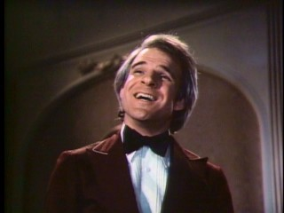 "Steve Martin holds the title role of 1977's ""The Absent-Minded Waiter"", which was nominated for the live-action short film Academy Award."