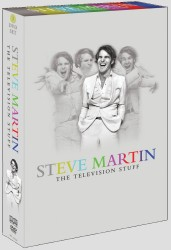 Steve Martin: The Television Stuff DVD box set cover art -- click to buy from Amazon.com