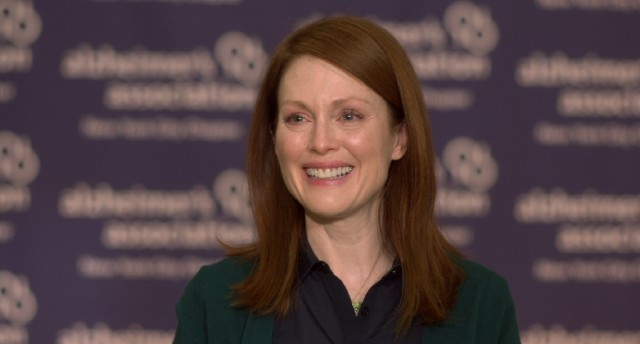 "Playing a linguistics professor diagnosed with early onset Alzheimer's disease, Julianne Moore won an Oscar for ""Still Alice."""