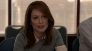 Alice Howland (Julianne Moore) unknowingly repeats her criticism regarding a student's presentation in this deleted scene.