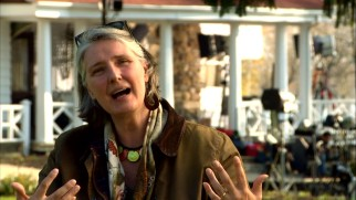 "Author Louise Penny is really excited to see her book turned into a ""film."""