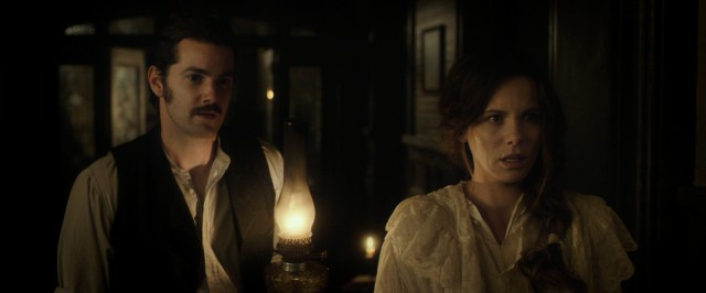 Not all is what it seems to be at Stonehearst Mental Asylum for Dr. Edward Newgate (Jim Sturgess) and Mrs. Eliza Graves (Kate Beckinsale).