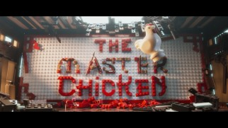 "A chicken upstages a warrior in ""The Master: A Lego Ninjago Short."""