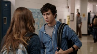 Shy teenager Rusty (Nat Wolff) catches the attention of his crush with a poem that's not so secretly about her.