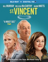 St. Vincent: Blu-ray + Digital HD combo pack cover art - click to buy from Amazon.com