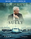 Sully: Blu-ray + DVD + Digital HD combo pack cover art