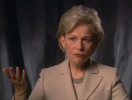 Lone surviving cast member Nancy Olson shares her perspective in several featurettes.