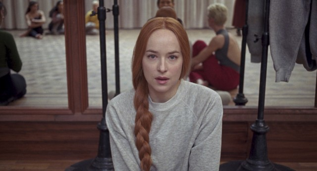 "Luca Guadagnino's ""Suspiria"" (#37) stars Dakota Johnson as Susie Bannion, an Ohio girl who has just come to Berlin to enroll in a prestigious ballet academy."
