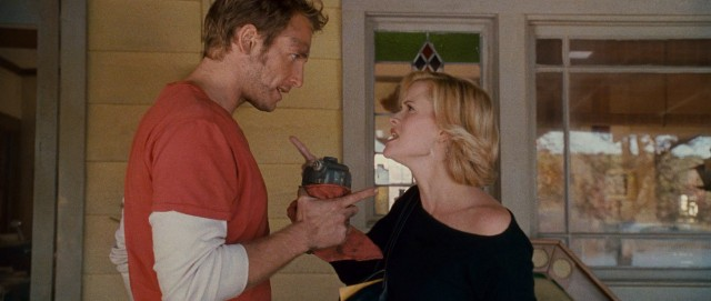Finger pointing occurs when Jake Perry (Josh Lucas) and his wife Melanie (Reese Witherspoon) cross paths for the first time in seven years.