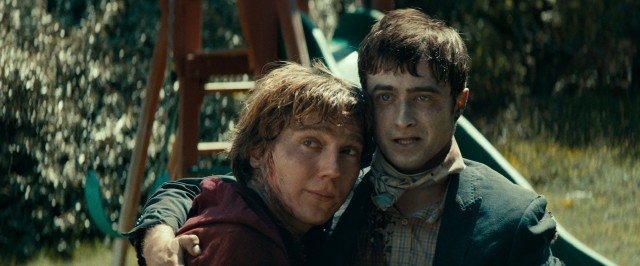 Death isn't enough to stop Hank (Paul Dano) and Manny (Daniel Radcliffe) from enjoying an epic friendship.