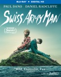 Swiss Army Man: Blu-ray + Digital HD combo pack cover art