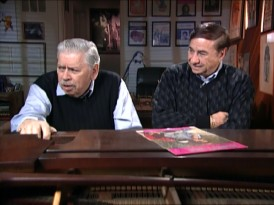 "Songwriters Robert and Richard Sherman reflect on their ""The Sword in the Stone"" songs in ""Music Magic: The Sherman Brothers."""