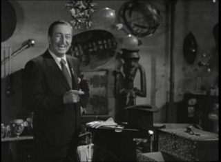 "Walt Disney has an awful lot of fun in his studio's Magic Property Room in this excerpt from his anthology TV series' episode ""All About Magic."""