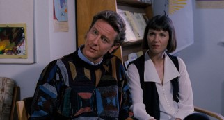 Neal (Judge Reinhold) and Laura (Wendy Crewson) take issue with Scott's seemingly unhealthy delusions.