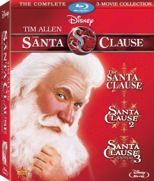 The Santa Clause: The Complete 3-Movie Collection Blu-ray box art -- click to buy from Amazon.com