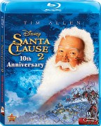 The Santa Clause 2 individual 10th Anniversary Blu-ray cover art