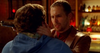In New York City, Noah runs afoul of eccentric drug dealer Karl (Sam Rockwell) with a K.