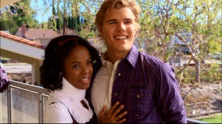Chastity (Dana Davis) is the head cheerleader. Joey (Chris Zylka) is the football team's starting quarterback. Naturally, they date... kind of.