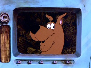 "Like many episodes, the final one ends with the titular dog uttering his signature catchphrase and nickname,  ""Scooby Dooby Doo!"""