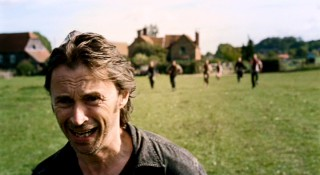 In a semi-justifiable act of cowardice that will leave him racked with guilt, Don Harris (Robert Carlyle) makes a mad dash away from the rabid Infected.