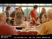 "Father and children join Scarlet for lunch in the enjoyable deleted scene ""Canteen."""