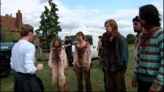 "Movement advisor Paul Kasey directs ""The Infected"" in the fun featurette."