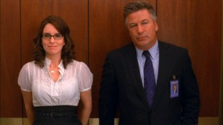 """30 Rock"" has a large cast, but it all centers on Liz Lemon (Tina Fey) and Jack Donaghy (Alec Baldwin)."