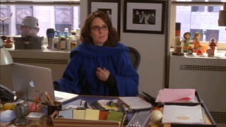 "Liz Lemon defends her Slanket on ""30 Rock."""