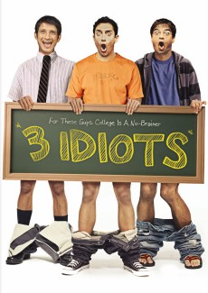 3 Idiots DVD cover art -- click to buy DVD from Amazon.com
