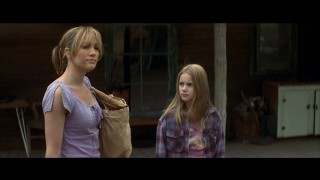 "J-Lo and daughter come to Wyoming in ""An Unfinished Life."""