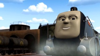 "If you were to mix the pride of William Shatner, the pomposity of Jay O. Sanders and the speed of Carl Lewis, you would get something like Spencer, the antagonist for much of ""Thomas & Friends: Hero of the Rails."""