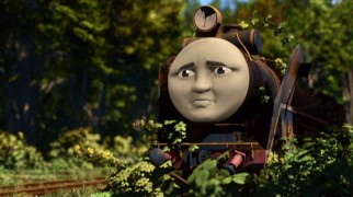 "Our first look at Hiro finds him rusty, weedy, downtrodden, and a far cry from ""Master of the Railway"" in a remote area of Sodor."