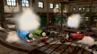 Best friends Thomas and Percy provide an update to Victor, the good-hearted Latino Steamworks chief introduced in this film.