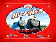 The stars outnumber the options on the Hero of the Rails DVD's main menu.
