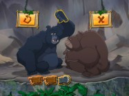 The Gorilla Grumble game tests your ability to recall punching patterns.